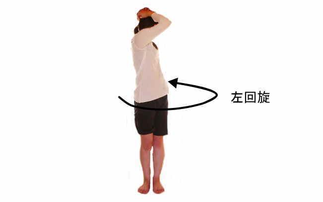 腰椎の回旋