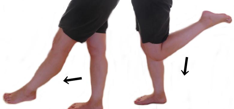 膝関節の伸展